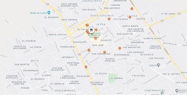 A good restaurant in Mexico is Ta Bonitía in Comitan.