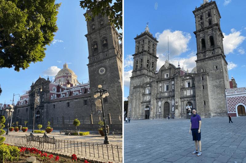 Catedral de Puebla, one of tourist attractions in Puebla