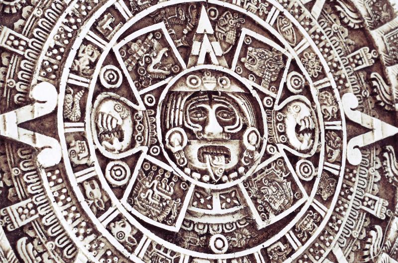 Calendar as part of Mayan culture