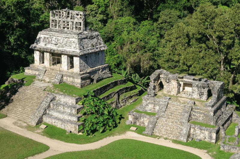 Palenque, Mayan ruins in Mexico