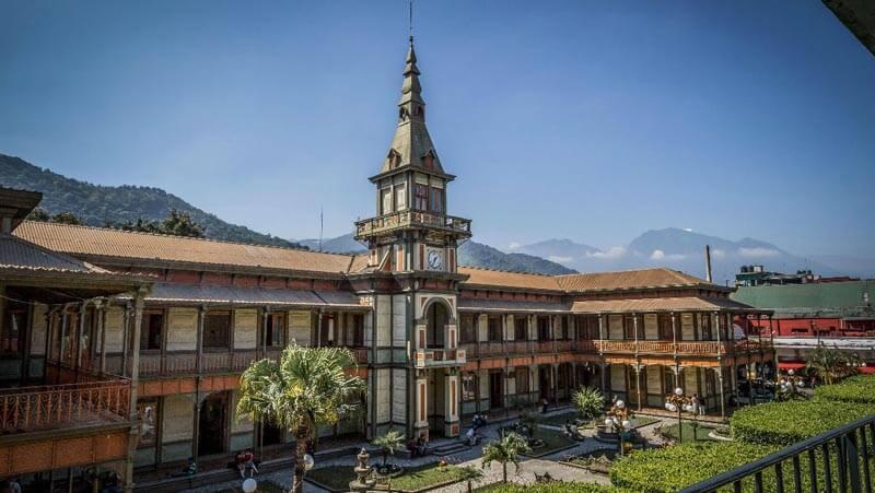 Iron Palace in Orizaba, Mexico
