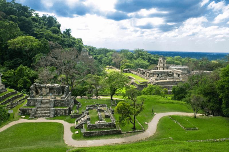 Mayan city Palenque