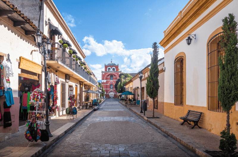 Arco del Carmen in San Cristóbal, Mexico.