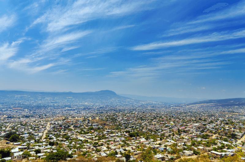 A view of Tuxtla Gutiérrez city (Chiapas, Mexico)