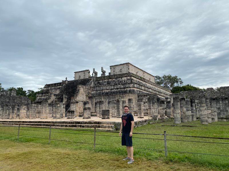 Me in Chichén Itzá, Mexico
