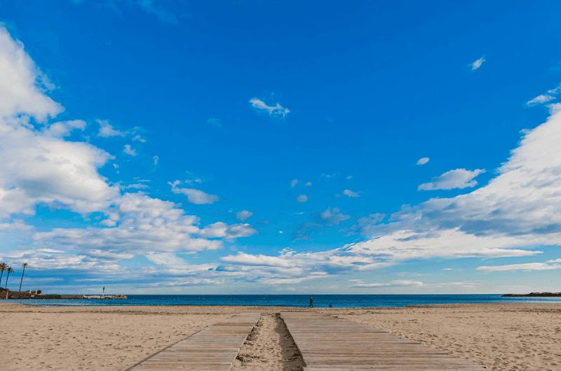 Playa s'Arenal sandy beach