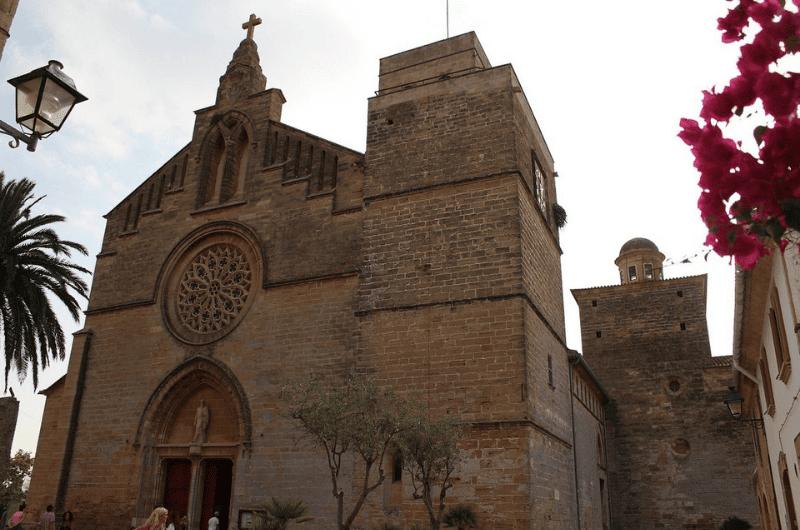 Church de Sant Jaume in Alcudia, Mallorca