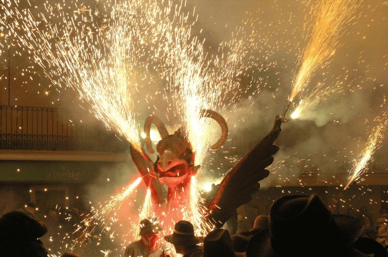 La Nit de Foc in Mallorca