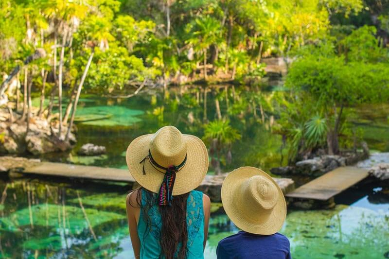 La Ruta de los Cenotes trail in Mexico