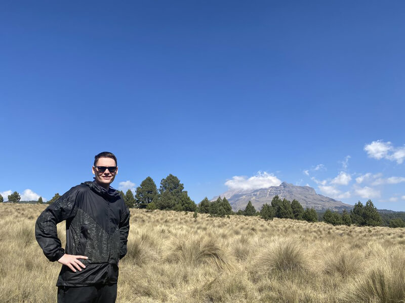 Me in Izta Popo National Park