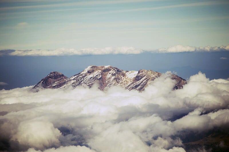 Iztaccíhuatl in Izta Popo National Park