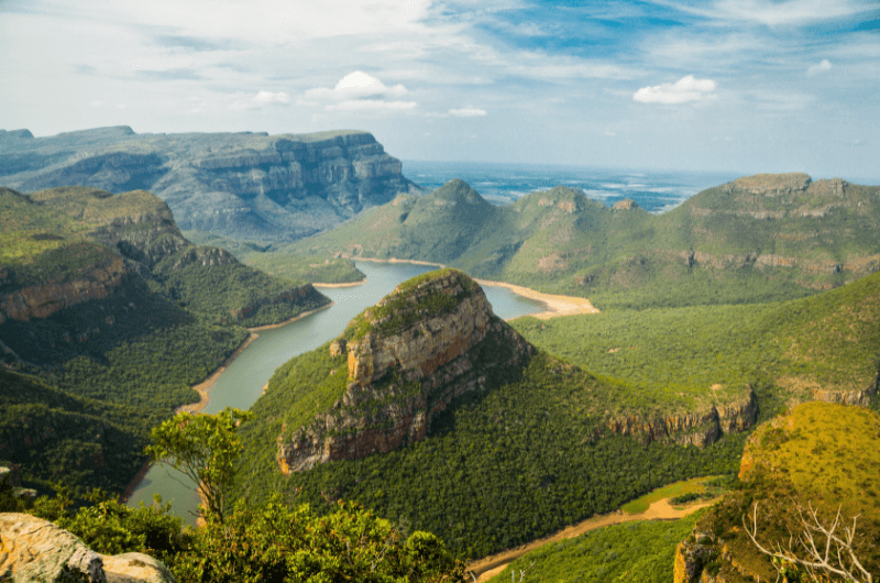 Blyde River Canyon landscape