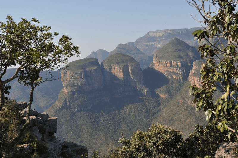 Three Rondavels in Blyde River Canyon park