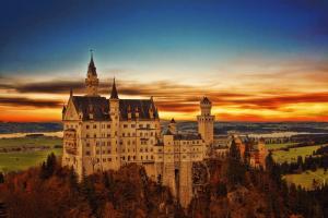 Neuschwanstein castle, fairy tale castle Germany