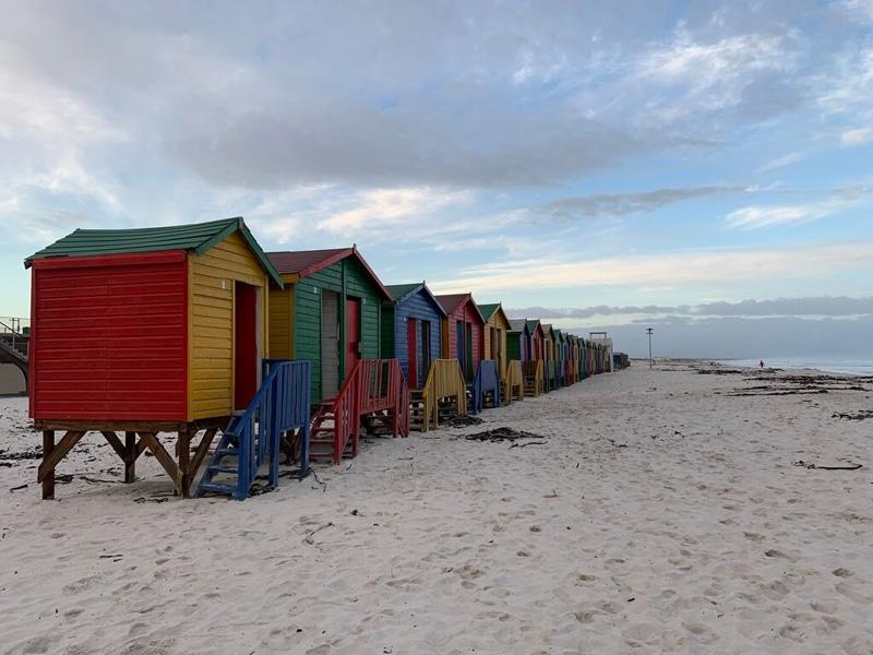 Muizenberg Beach cabins