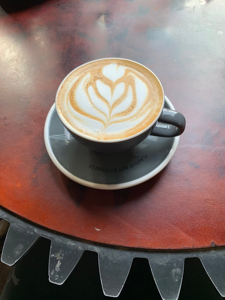 Coffee at the Truth Coffee Shop in Cape Town