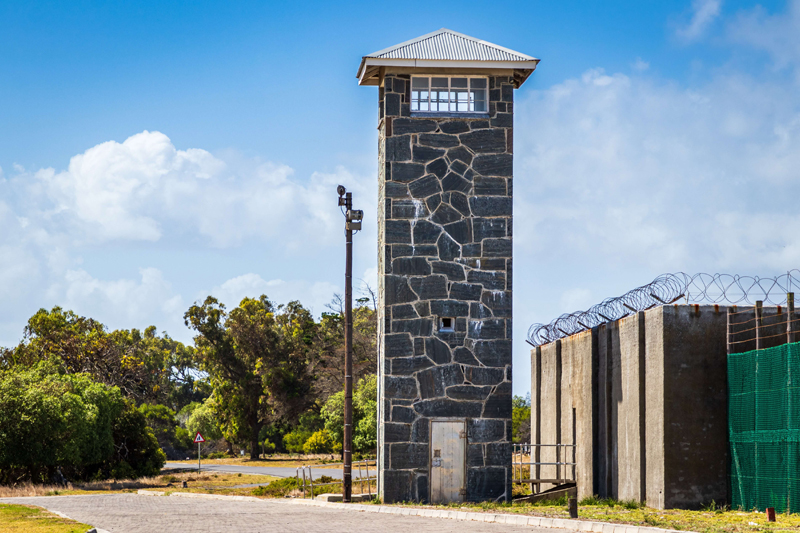 Former prison on the Robben Island (Cape Town attraction)