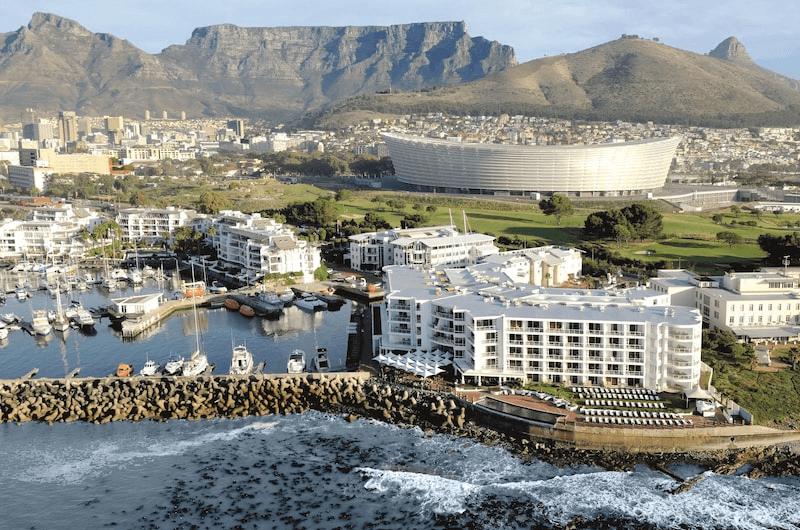 Radisson Blu Hotel on the coastline