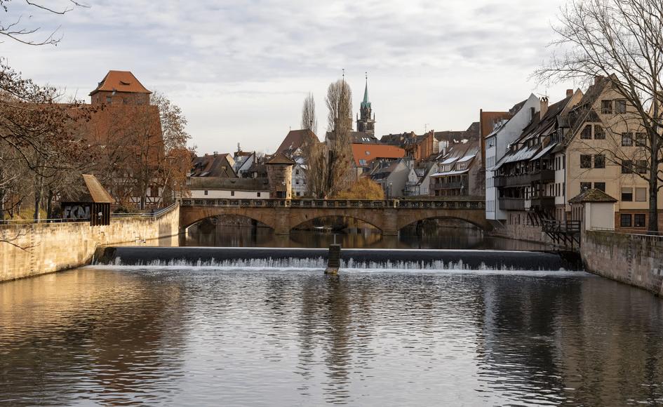 Nuremberg, bridge, medieval town